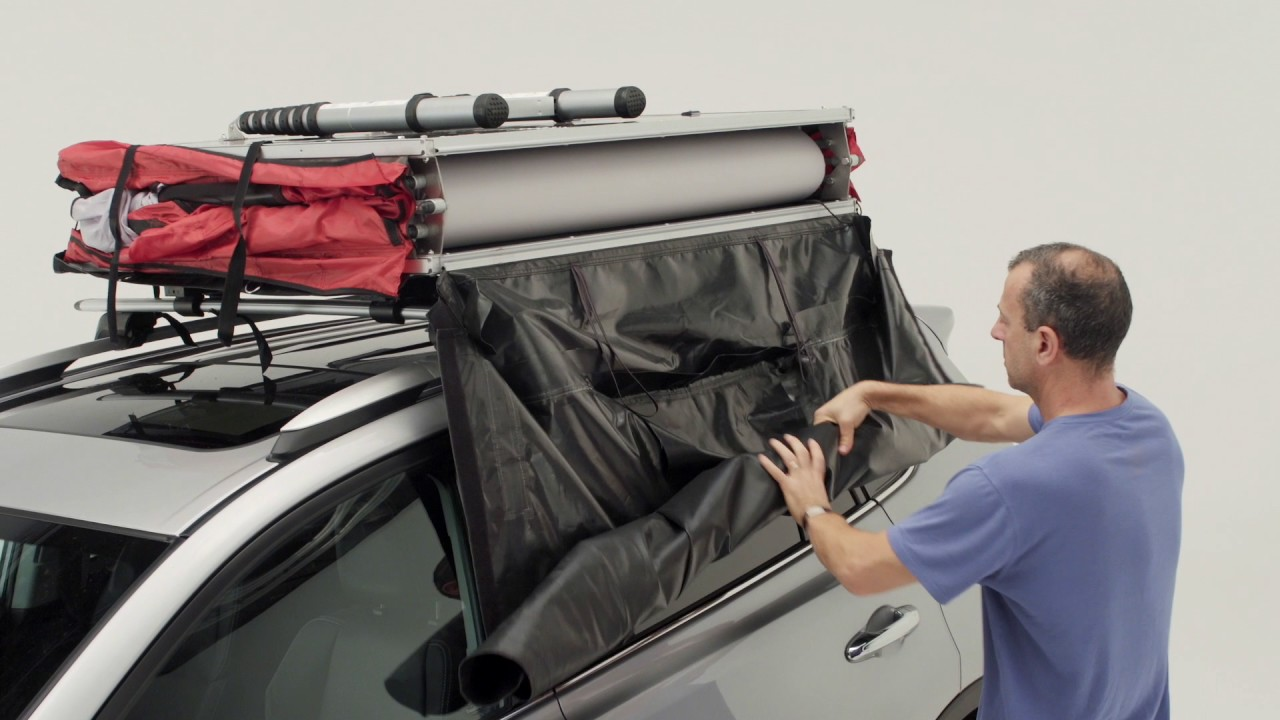 Yakima Skyrise Rooftop Tent Product Tour Youtube
