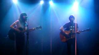 Tim Wheeler + Emmy the Great. Tracers acoustic