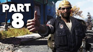 FALLOUT 76 WASTELANDERS Gameplay Walkthrough Part 8 - HUDSON IMPORTANT RESEARCH