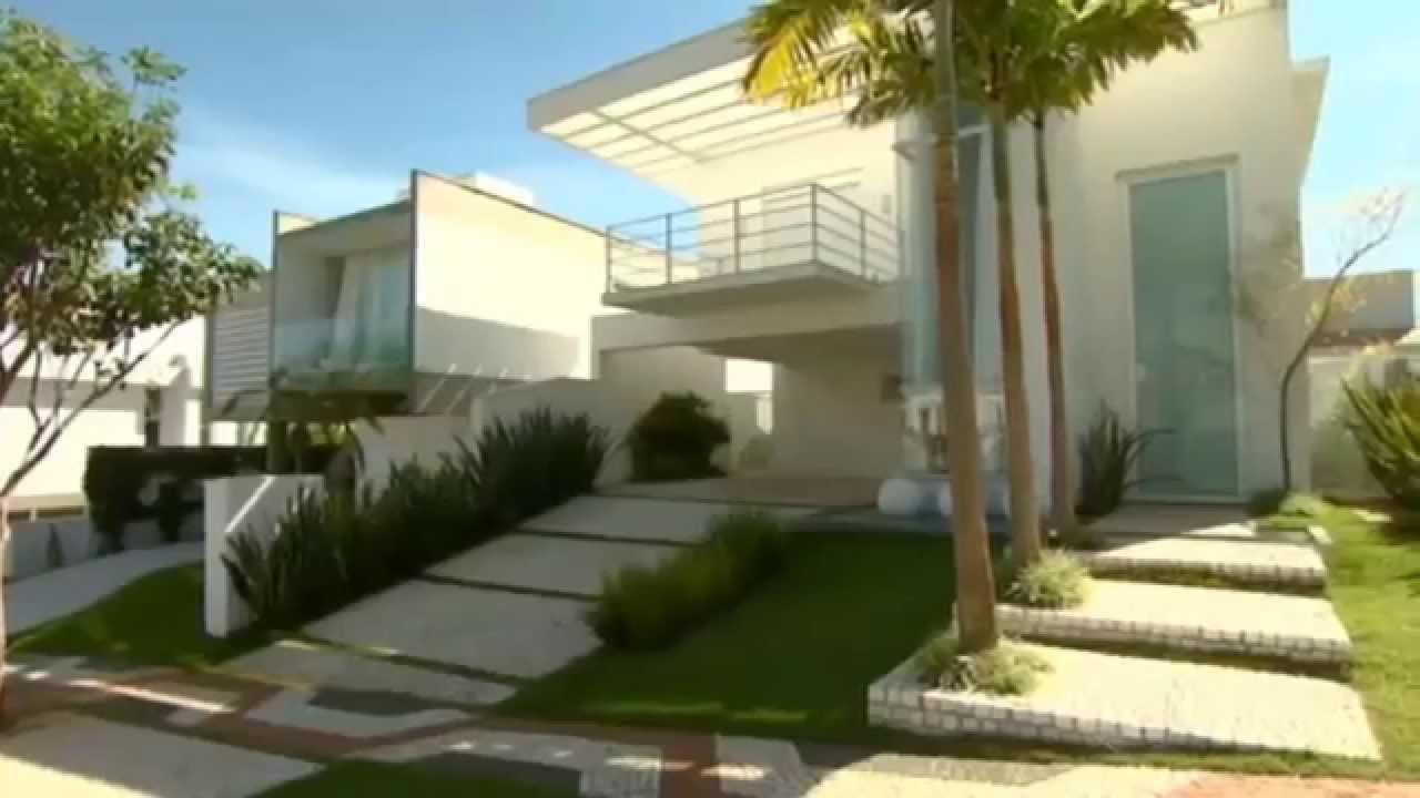 Dicas de paisagismo para dar acabamento sua fachada for Adornos para entrada de casa