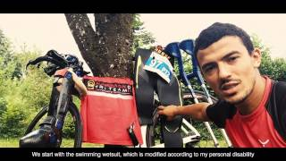 Mohamed Lahna race preparation - Besançon World Paratriathlon 2015