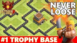Trophy Base Th8 - Clash of clans