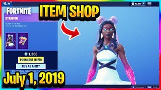 FORTNITE ITEM SHOP *NEW* CRAB RAVE EMOTE AND STARFISH SKIN! | ITEM SHOP (July 1, 2019)