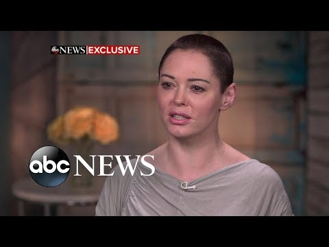 Rose McGowan responds to Harvey Weinstein turning himself in