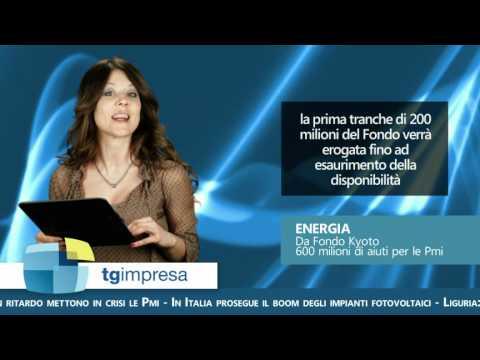 Fondo Kyoto, prestiti partecipativi Liguria, ricerca, internazionalizzazione.