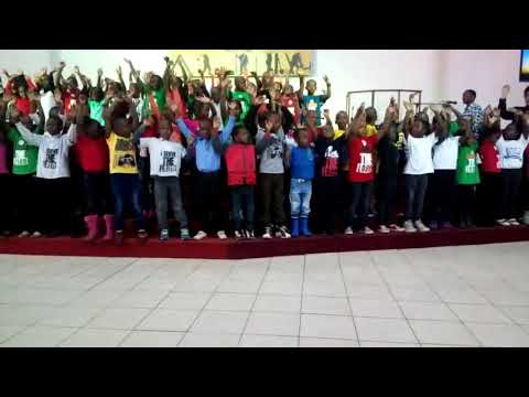 We lift our hands to the great I Am - House of Grace Children Choir