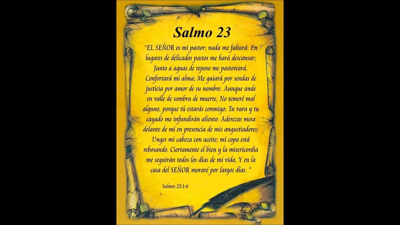 Salmo 23 cantado - YouTube