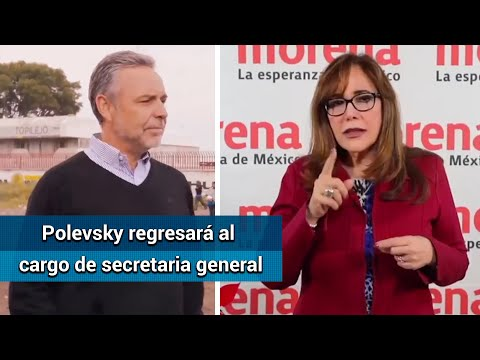 Congreso de Morena perfila a Ramírez Cuéllar como presidente interino