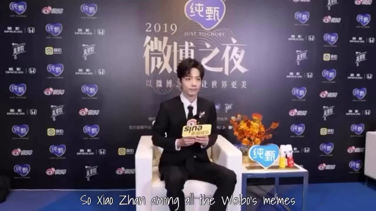[Eng Sub] Xiao Zhan in 2019 Weibo's Night Exclusive Interview