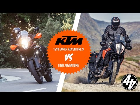 KTM 1290 Super Adventure S vs 1090 Adventure
