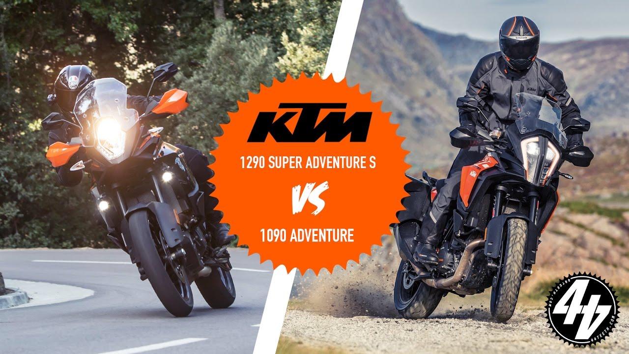 KTM 1290 Super Adventure S vs ...