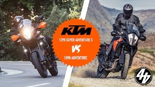 KTM 1290 Super Adventure S vs 1090 Adventure