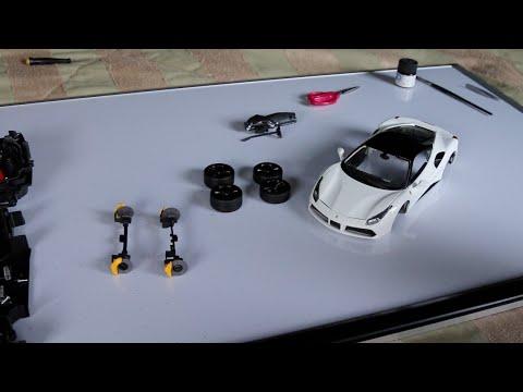 How To Customize A 1:18 Scale Model Car - Bburago Ferrari 488 GTB