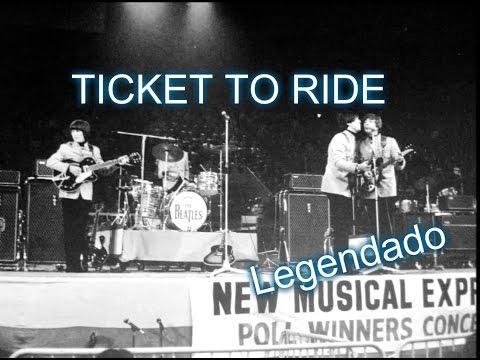 The Beatles - Ticket To Ride - Wembley Stadium (Legendado PT/BR)