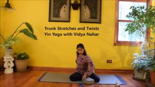 Timed Yin Yoga - 70 Minute Practice with Vidya Nahar