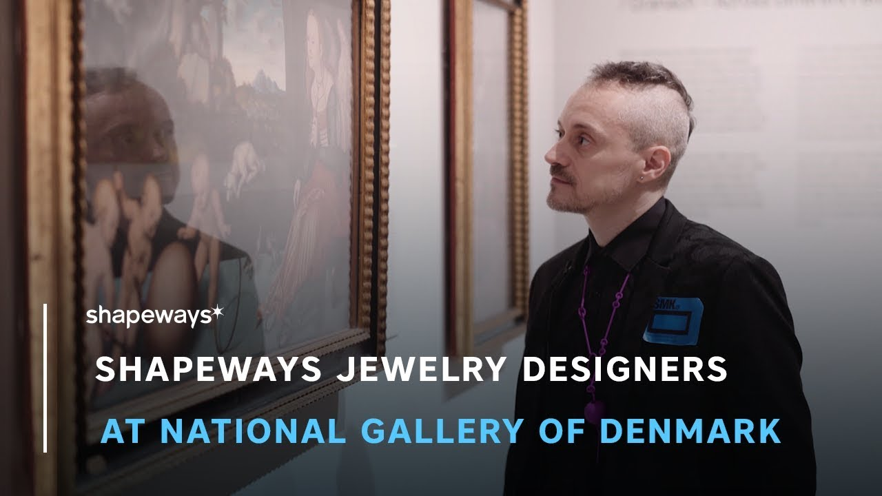 Celebrating Shapeways Jewelry Designers at the National Gallery of