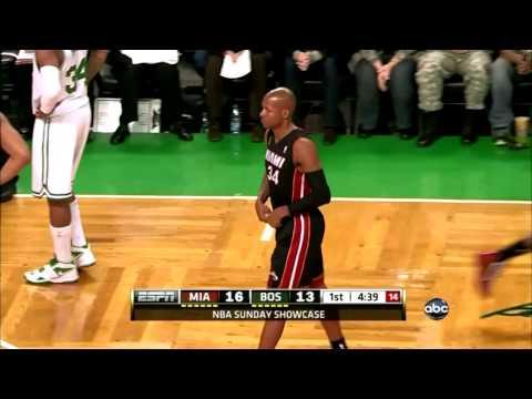 Ray Allen TD Garden Boston Entrance - Heat @ Celtics 1/27/2013