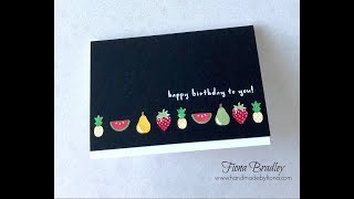 Sunday Stampin' Sessions - Fruit Basket