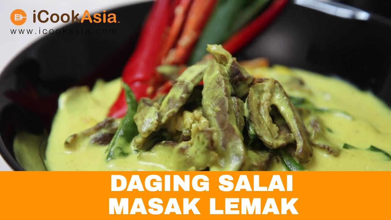 Daging Salai Masak Lemak Icookasia