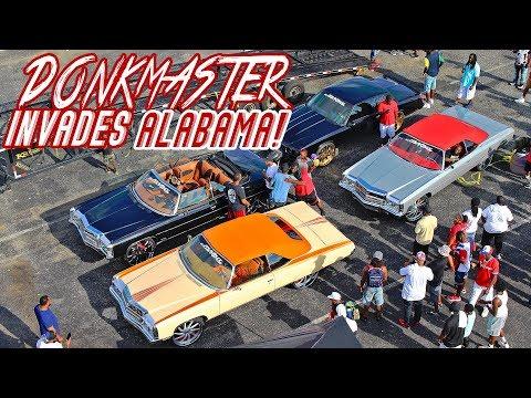 DONKMASTER VS ALABAMA : Big Rim Shootout In Montgomery, AL