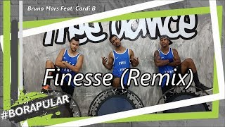 Bruno Mars Feat. Cardi B - Finesse | Coreografia Free Jump | #borapular (AERO JUMP)