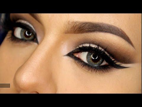 Ojos felinos cat eyes tutorial maquillaje grwm lolo for Como maquillar ojos ahumados paso a paso