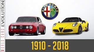 W.C.E - Alfa Romeo  Evolution (1910 - 2018)