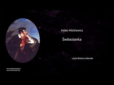 Adam Mickiewicz świtezianka