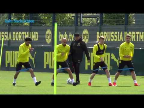 BVB-Training mit Reus und Sancho am 12. Mai