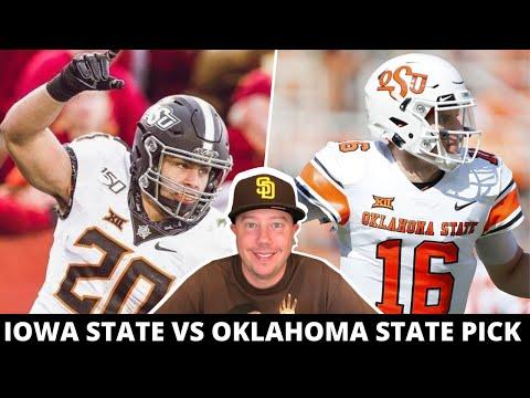 Iowa State vs Oklahoma State Pick Week 8 College Football Predictions