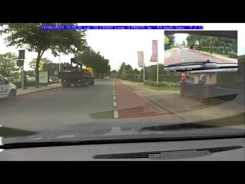 A Raspberry Pi Two Camera Dashcam With Overlaid GPS Data