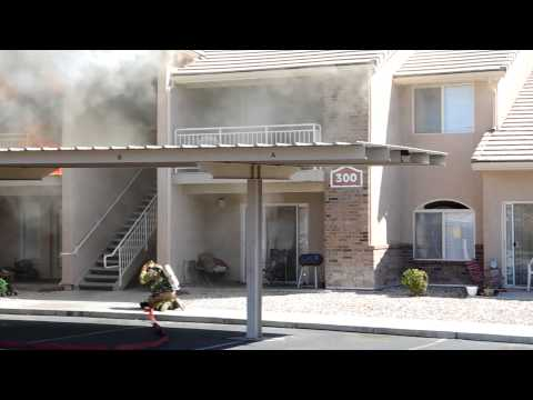 Fire at Desert Rose Apartments -- St. George