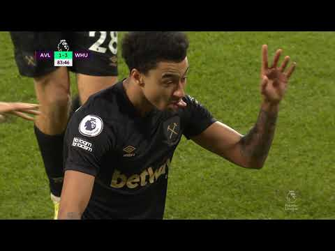 Aston Villa West Ham Goals And Highlights
