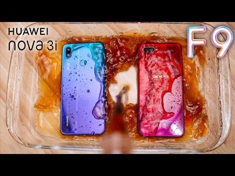 Oppo F9 & Nova 3i Pepsi Test | اختبار اغراق اوبو ونوفا في البيبسي من سيصمد؟