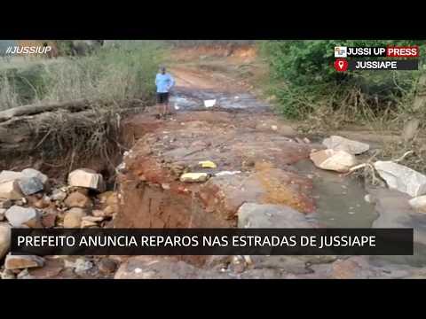 Prefeitura vai iniciar reparos nas estradas de Jussiape