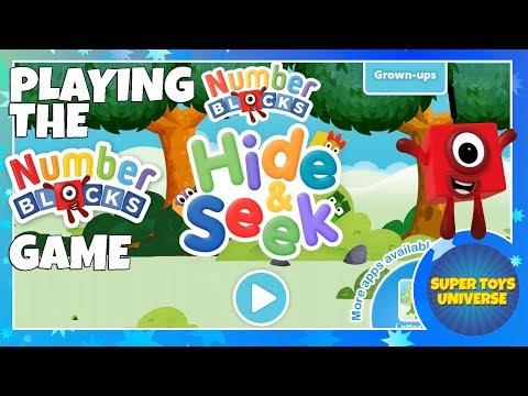 Numberblocks Game Hide Seek Numberblocks Hide Seek Playthrough