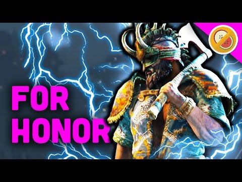 UNLEASHING THOR AS BERSERKER! - For Honor Gameplay