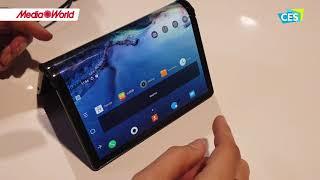 Flexipai il primo smartphone pieghevole - CES 2019