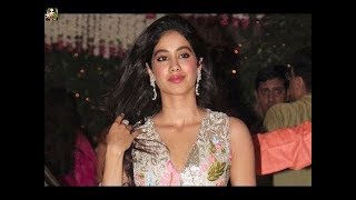 Jhanvi Kapoor At Mukesh Ambani Party
