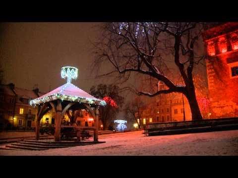 Sandomierz świąteczne iluminacje