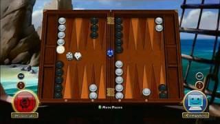 Hardwood Backgammon Xbox Live Gameplay - Gameplay