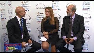 Pablo Hoya entrevistado por Javier Baranda en el XVI Congreso de la CETM