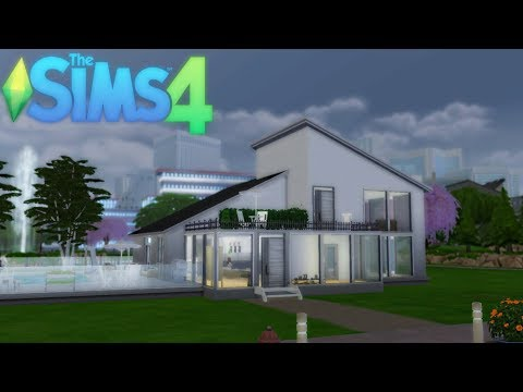 Sims 4 | Modern eco house build!