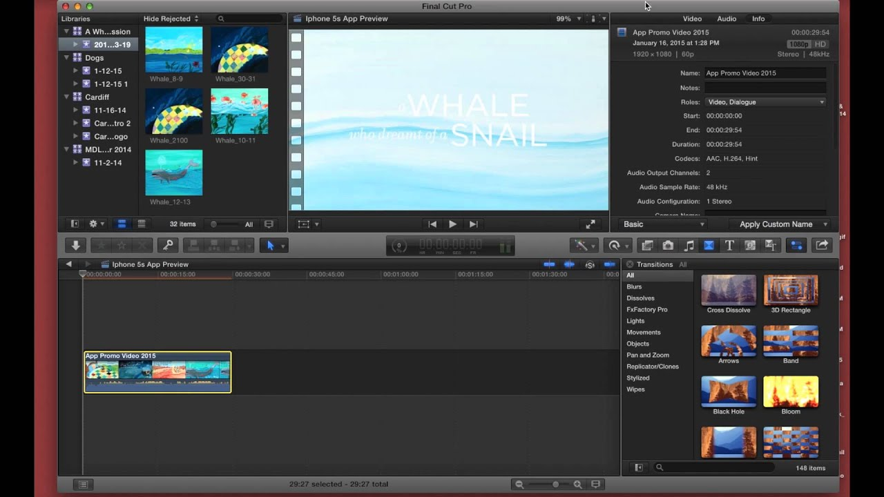 Create App Preview for iOS with Final Cut Pro X