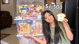 i spent $1500 on squishies from japan