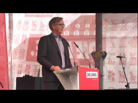 Dietmar Bartsch (Die Linke) am 21.09.2017 in Leipzig Richard Wagner Platz
