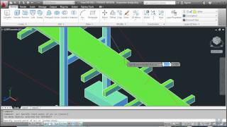 AutoCAD 20 - Drawing a 3D suspension bridge