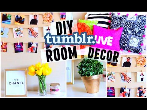 Diy Room Decor Tumblr Inspired Easy Cheap 2015 Redo Your