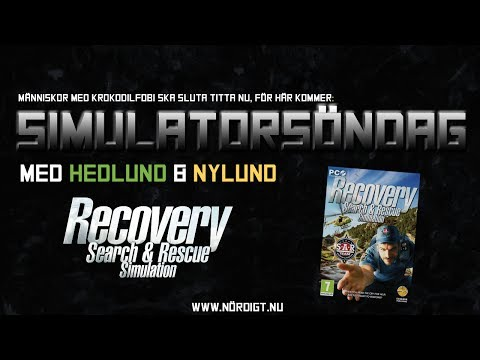 Simulatorsöndag: Recovery Search & Rescue Simulaton