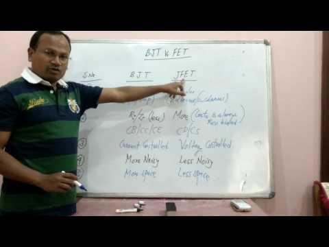 BJT Vs FET by Dr G R Sinha